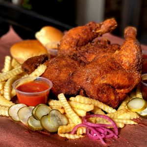 Whole Fried Chicken Dinner